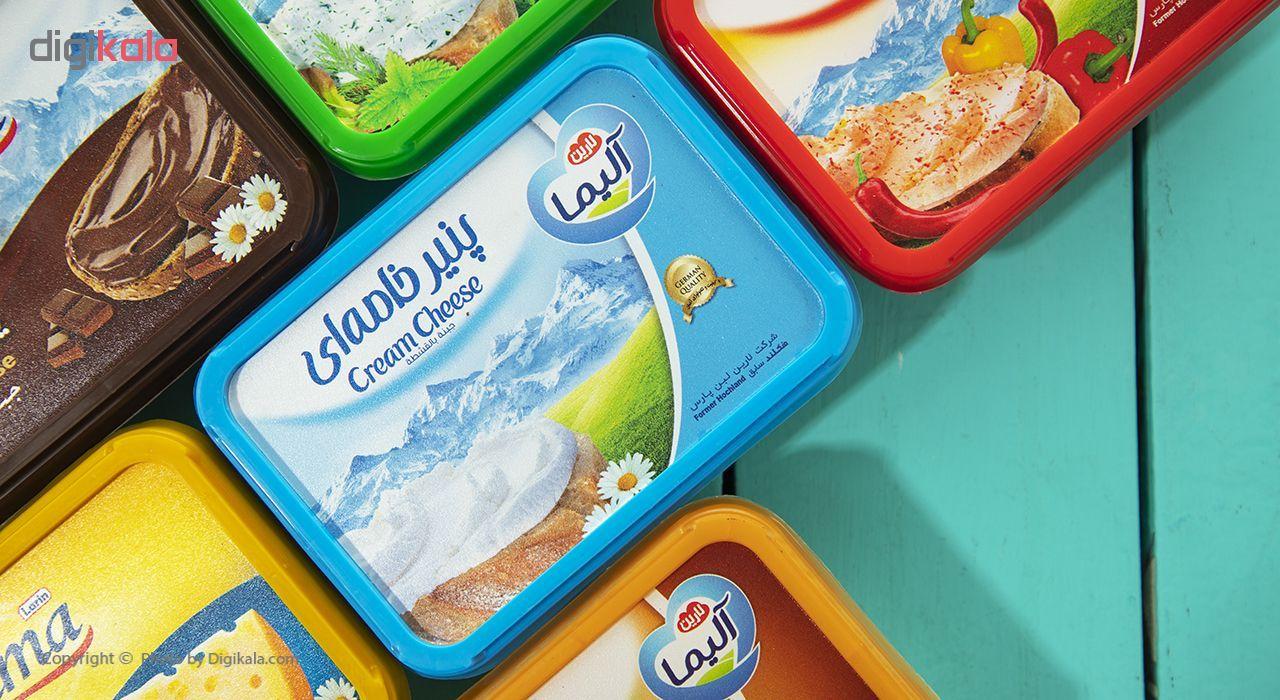 پنیر خامه ای آلیما وزن 150 گرم main 1 1
