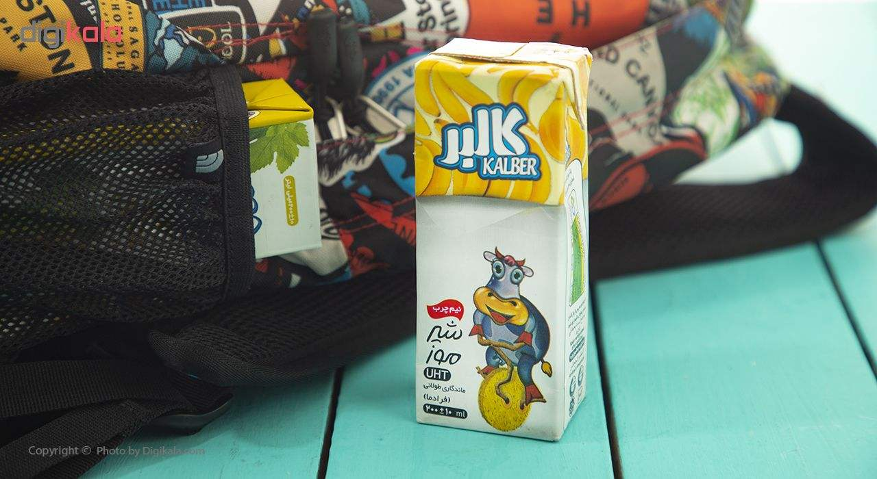 شیر موز نیم چرب کالبر حجم 200 میلی لیتر main 1 1