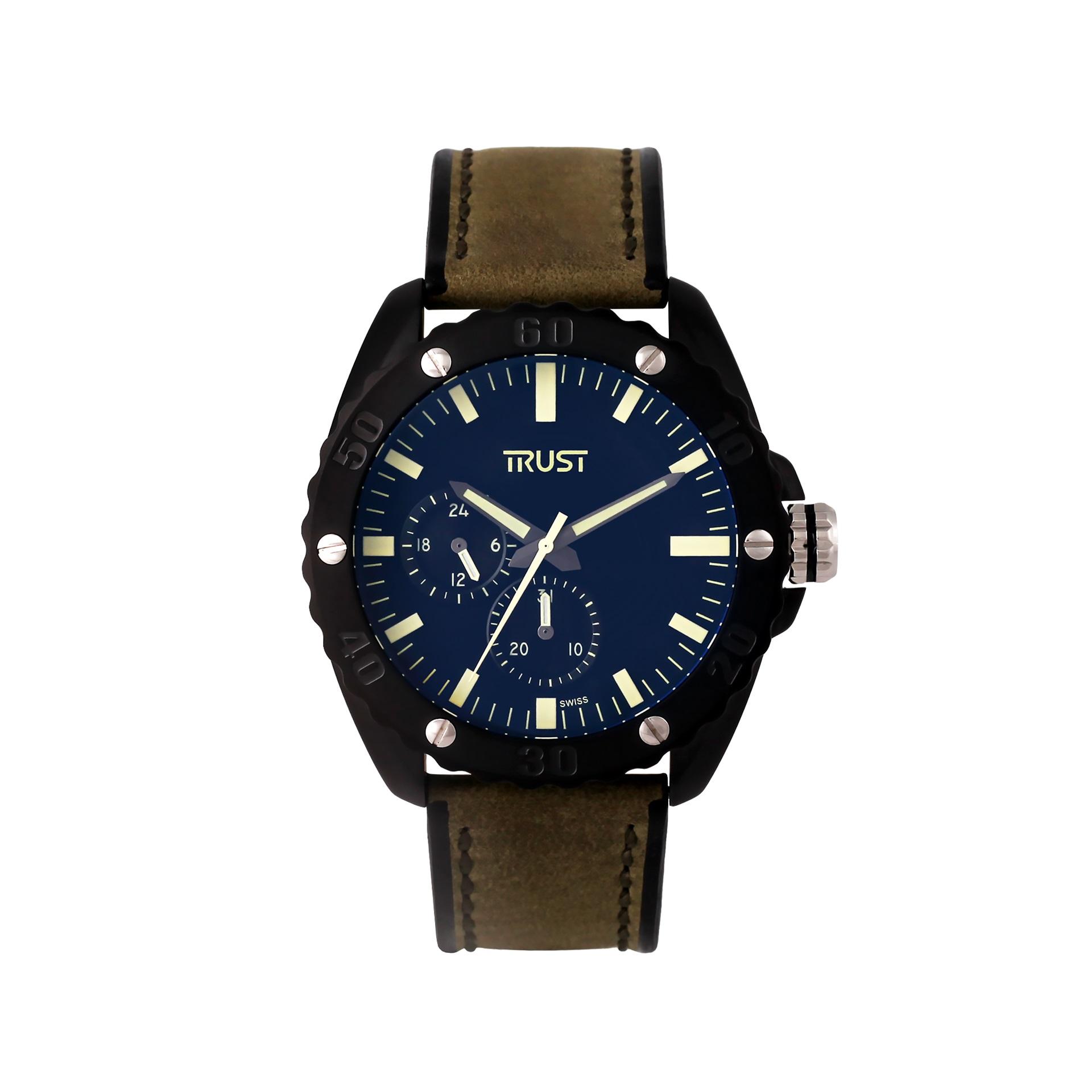 ساعت مچی عقربه ای مردانه تراست مدل G494DQD