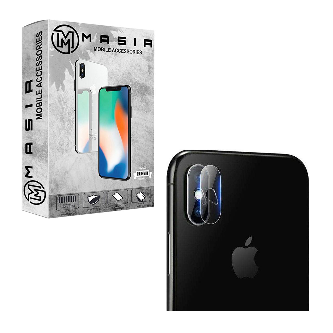 محافظ لنز دوربین مسیر مدل MGLNZ مناسب برای گوشی موبایل موبایل اپل Iphone XS MAX
