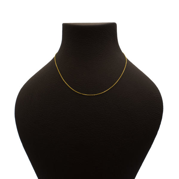 زنجیر طلا 18 عیار زنانه آمانژ کد 407D2796