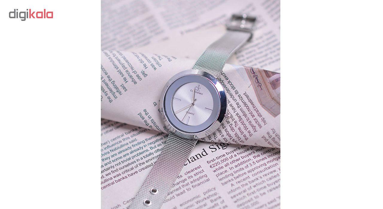ساعت مچی عقربه ای زنانه کد Ca02-Sil
