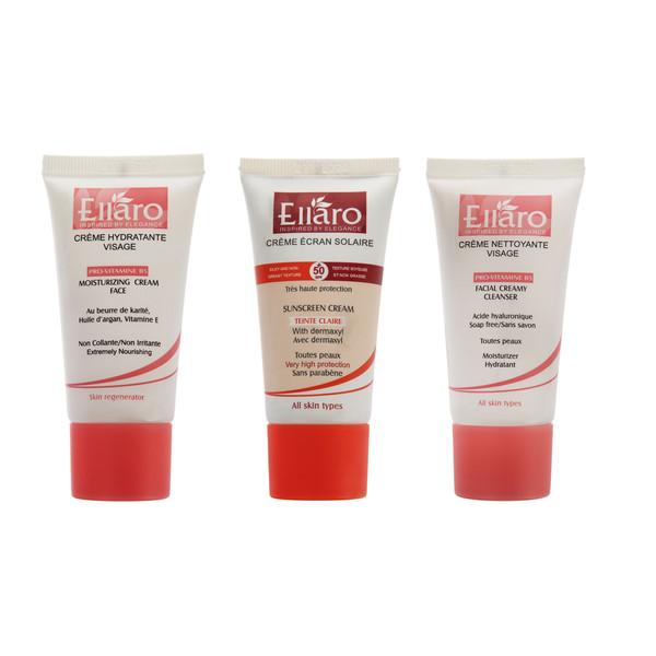 مراقبت پوست الارو مدل All Skin Type حجم 20 میلی لیتر بسته 3 عددی