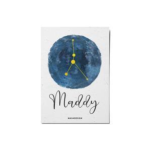 کارت پستال ماسا دیزاین طرح ماه تولد تیر کد POST85
