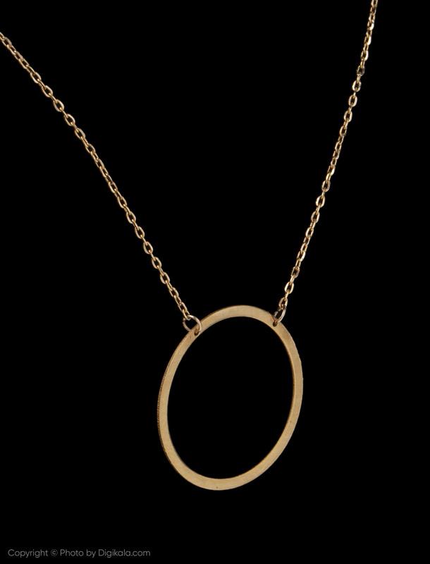 گردنبند طلا 18 عیار زنانه گرامی گالری مدل N049