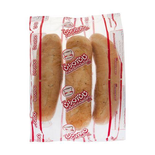 نان هات داگ نان آوران بسته 3 عددی