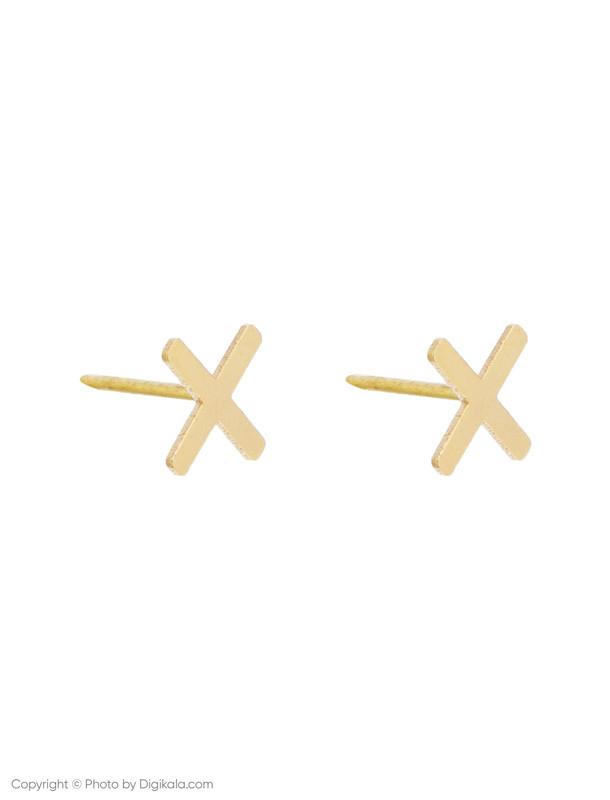 گوشواره طلا 18 عیار زنانه گرامی گالری مدل E007
