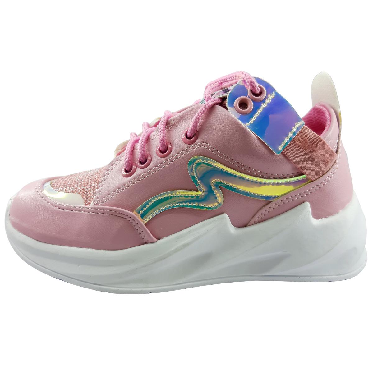 کفش مخصوص پیاده روی دخترانه کد Moj-01