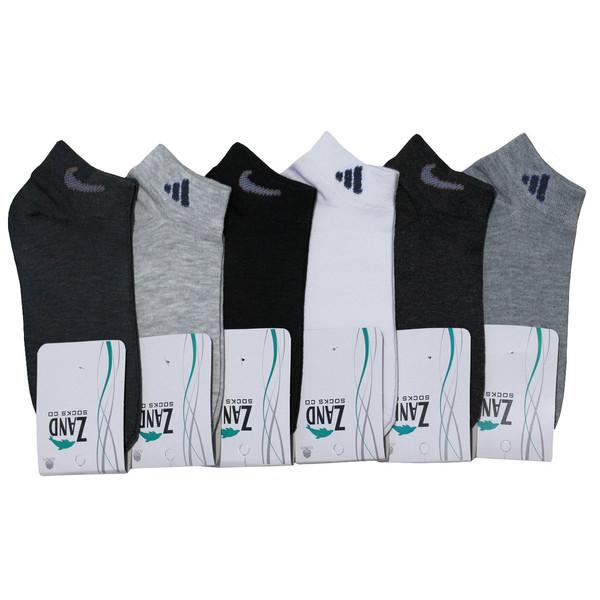 جوراب مردانه زند کد A 96 مجموعه 6 عددی