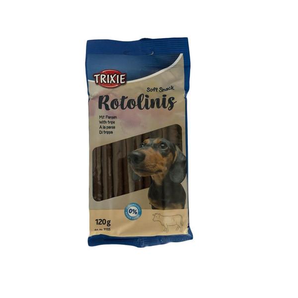 تشویقی سگ تریکسی مدل ROTOLINIS وزن 120 گرم