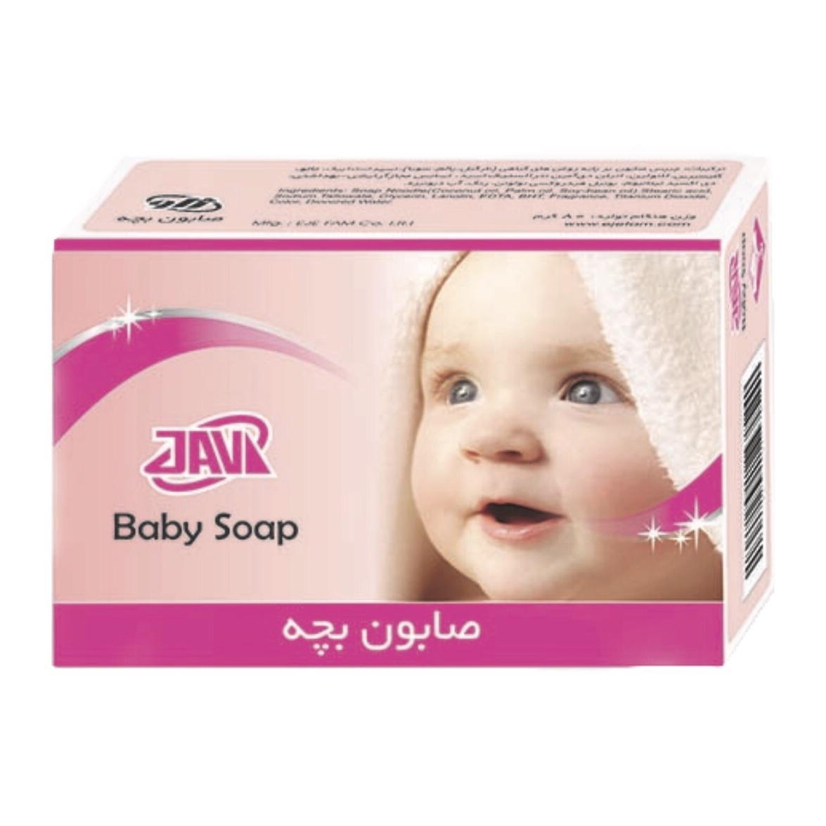 خرید                      صابون بچه ژاو کد ۱۱۲ وزن ۸۰ گرم