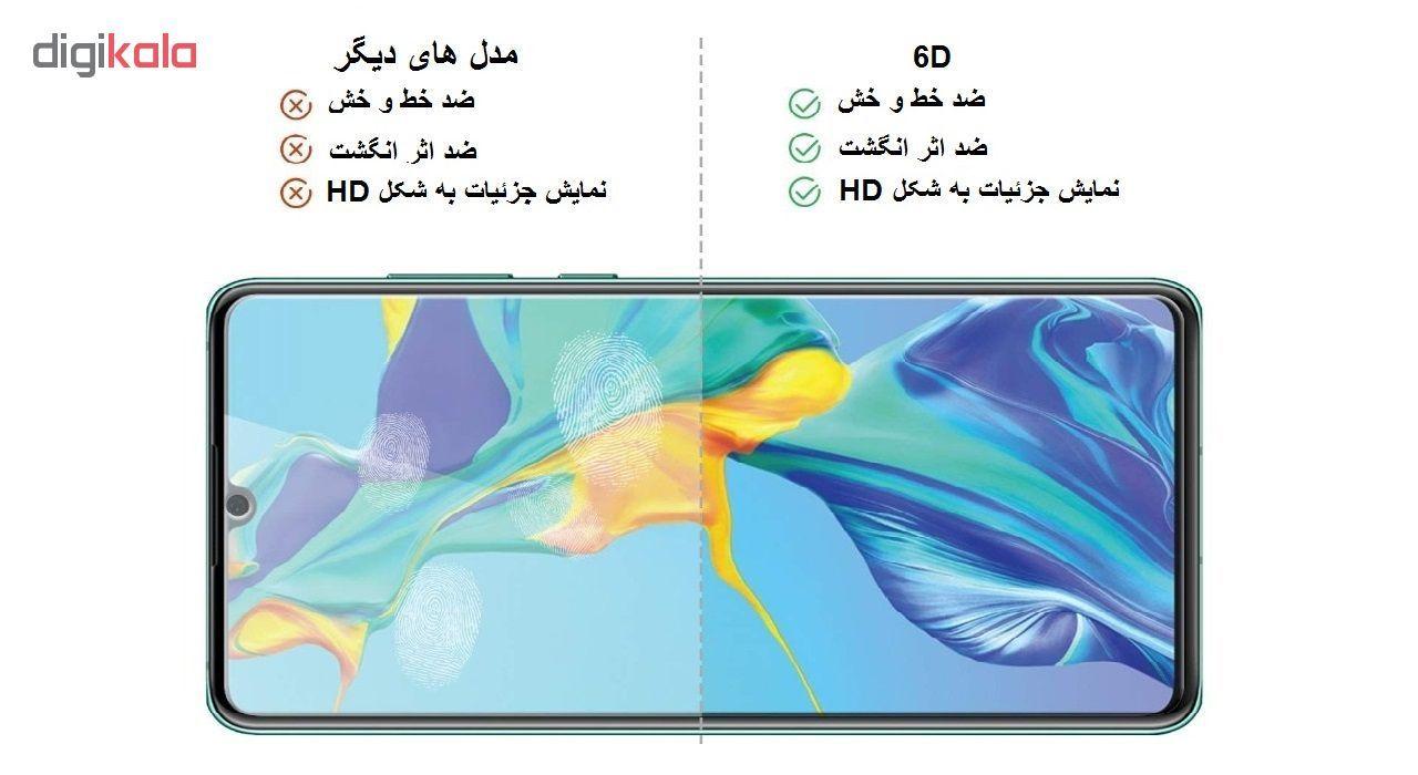 محافظ صفحه نمایش 6D ایبیزا مدل AB-40 مناسب برای گوشی موبایل نوکیا 6.1 plus main 1 4