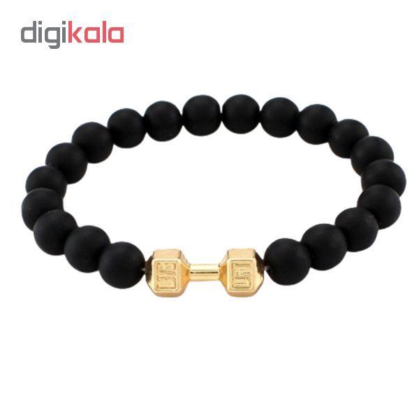 دستبند مردانه طرح دمبل کد D-Zh main 1 1