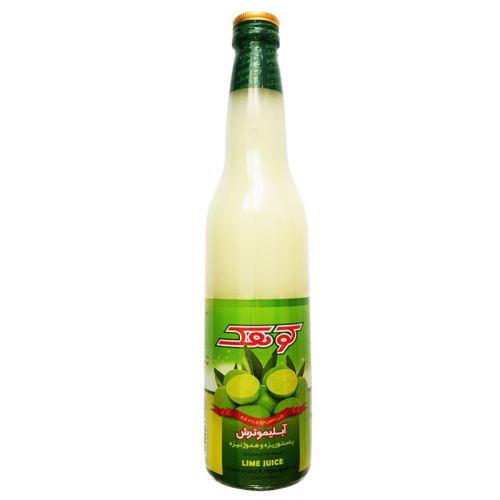 آب لیمو کوهک حجم 420 میلی لیتر