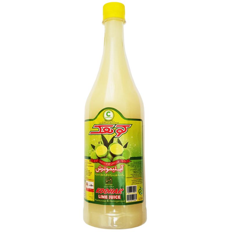خرید                      آب لیمو کوهک حجم  1000 میلی لیتر