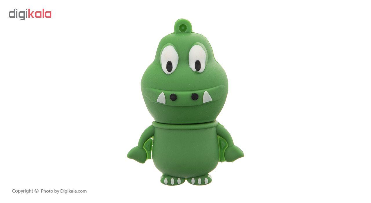 فلش مموری طرح عروسکی تمساح ظرفیت ۳۲ گیگابایت