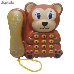 بازی آموزشی طرح تلفن مدل monkey