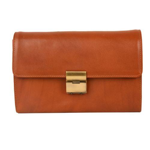 کیف دستی مردانه کهن چرم کد DB77-1