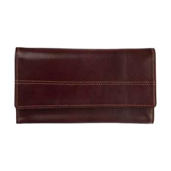 کیف پول زنانه چرم آرتان مدل سه لت کد AR02001d