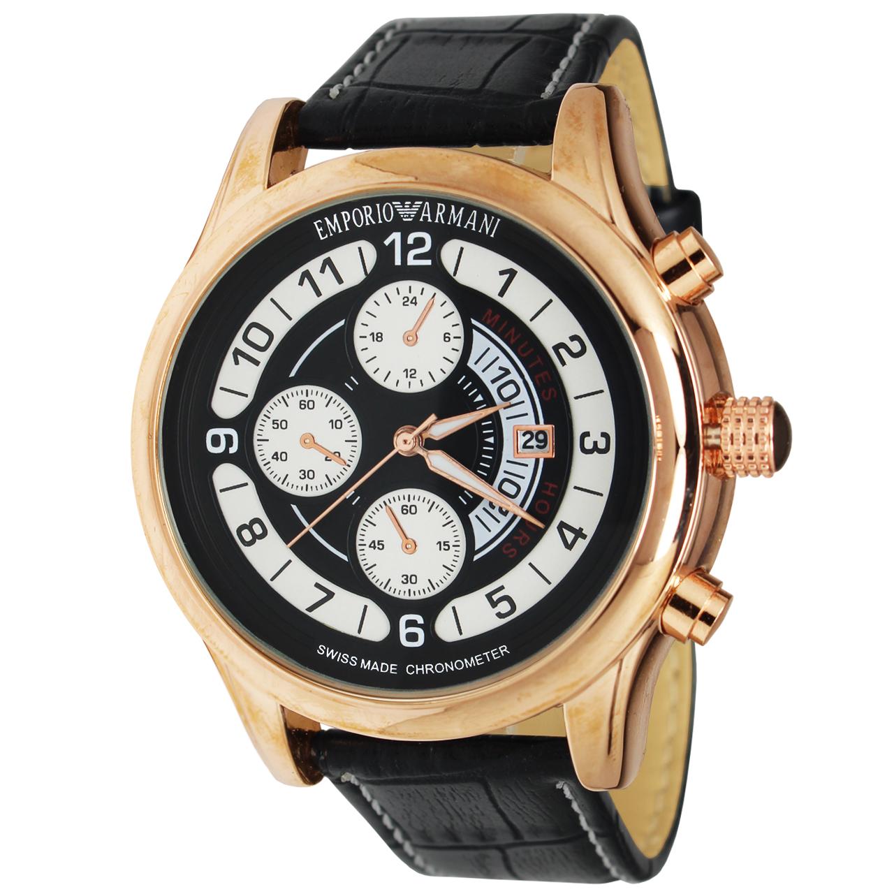 ساعت مچی عقربه ای مردانه کد AR-002