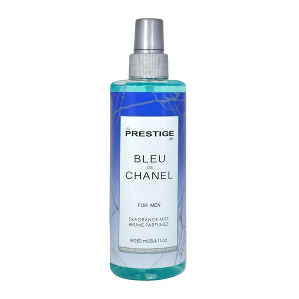 بادی اسپلش مردانه پرستیژ مدل Blue De Chanel حجم 250 میلی لیتر