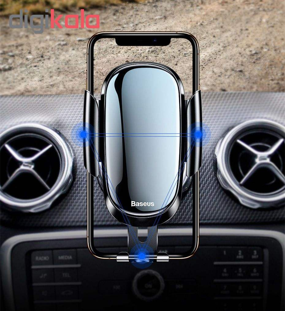 پایه نگهدارنده گوشی موبایل باسئوس مدل SUYL-BWL0 main 1 5