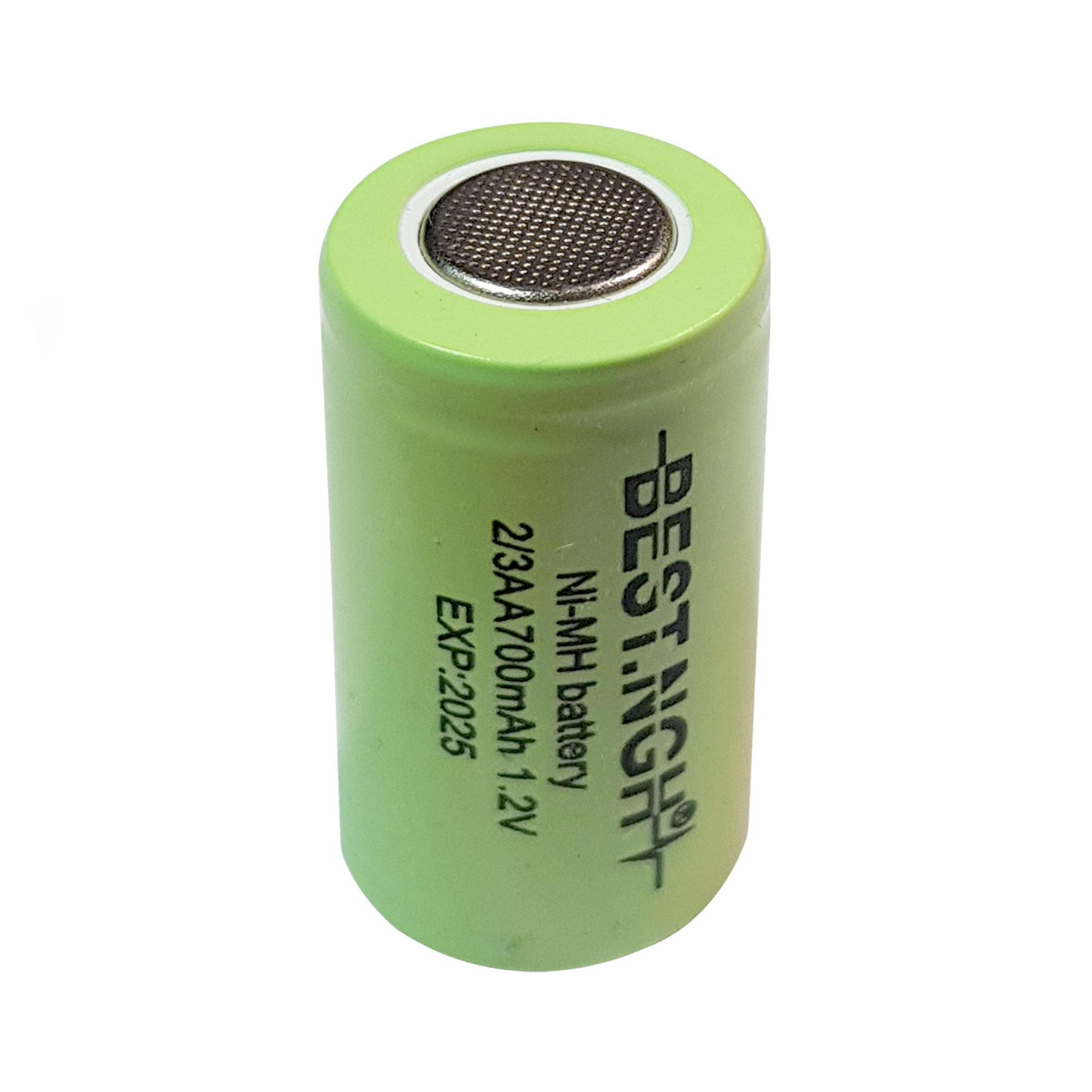 باتری نیکل متال هیدرید قابل شارژ بست ان جی اچ مدل Ni-111 ظرفیت 700 میلی آمپر ساعت