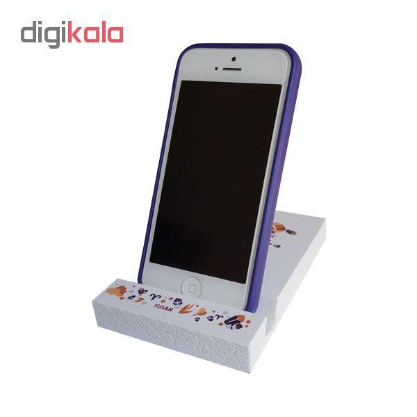 پایه نگهدارنده  گوشی موبایل تیج سان طرح ماه تولد آبان مدل A8 main 1 3