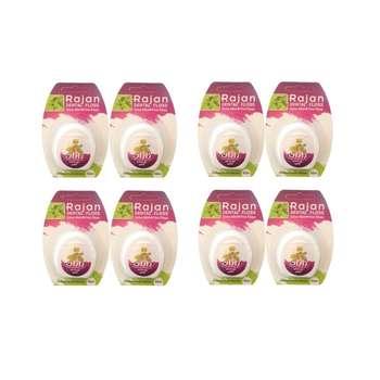 نخ دندان راژان مدل Extra Mint مجموعه 8 عددی