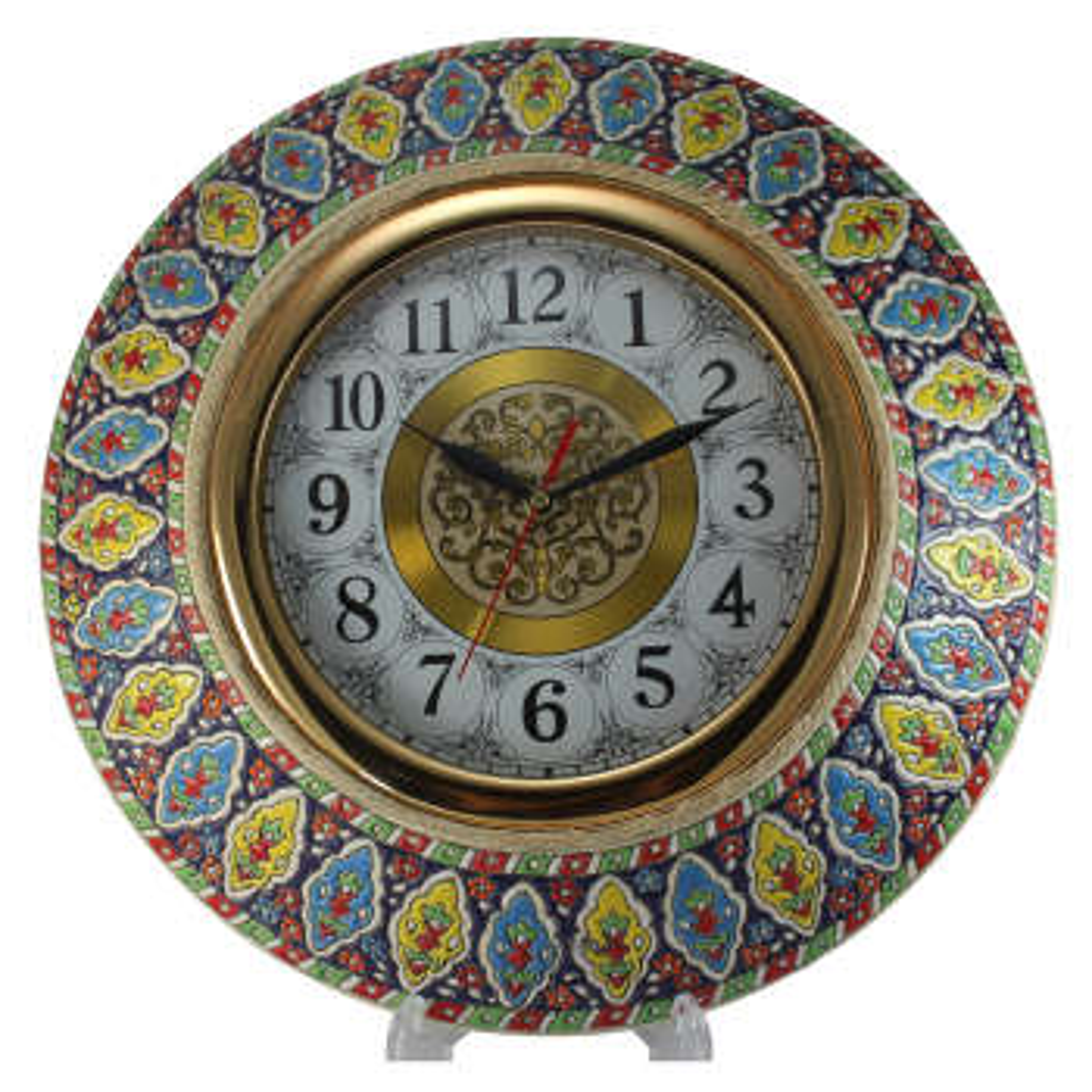 ساعت مینا کاری کد 2