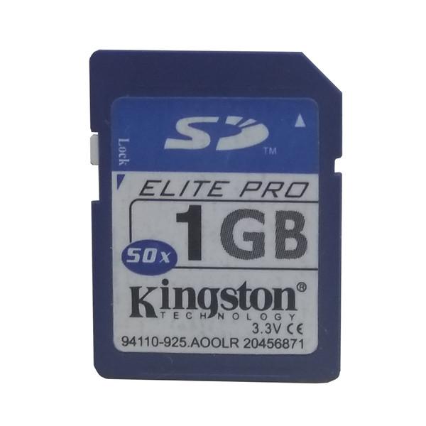 کارت حافظه SD کینگ استون مدل Elite-PRO  کلاس 6 استاندارد 50X سرعت 60Mbps ظرفیت 1 گیگابایت