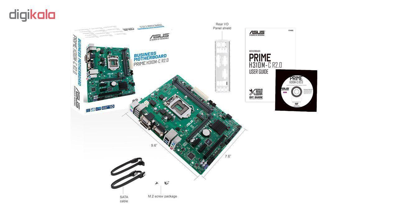 مادربرد ایسوس مدل  PRIME H310M-C R2.0 main 1 2
