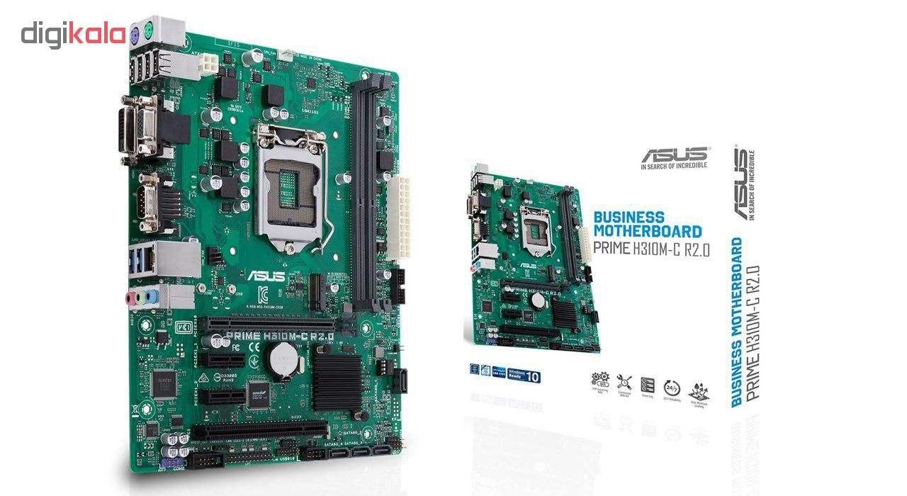 مادربرد ایسوس مدل  PRIME H310M-C R2.0 main 1 3