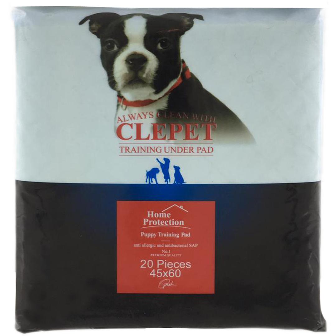 پد زیر انداز بهداشتی سگ کلپت کد 213 بسته 20 عددی