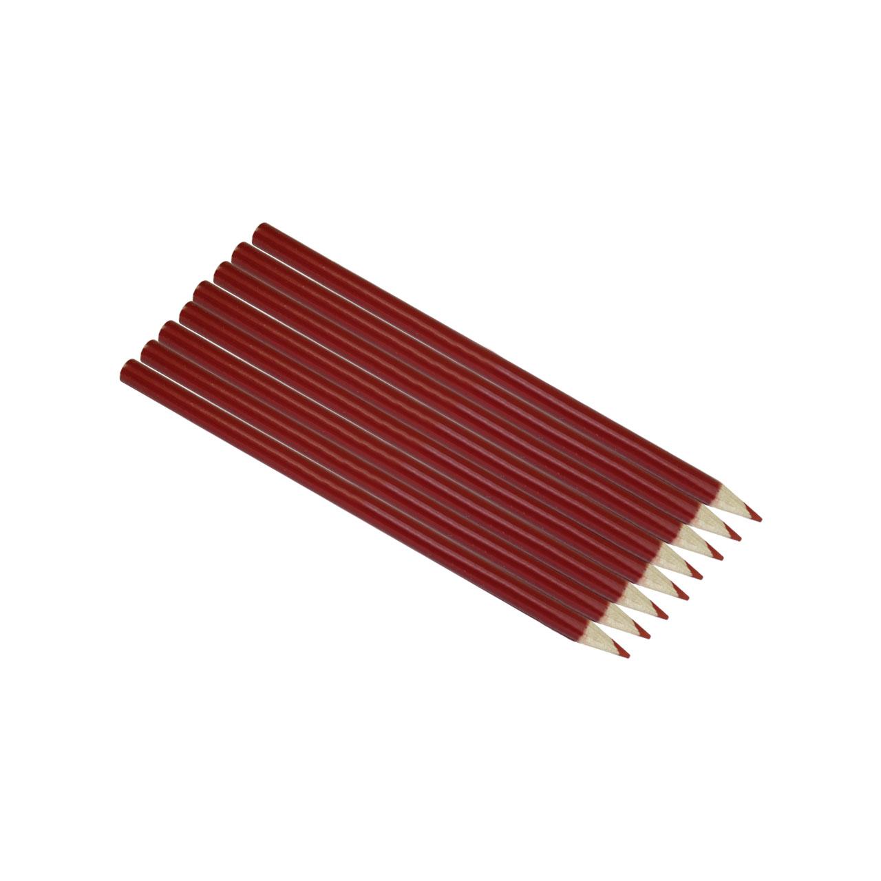 مداد قرمز کد ST2000 بسته 8 عددی