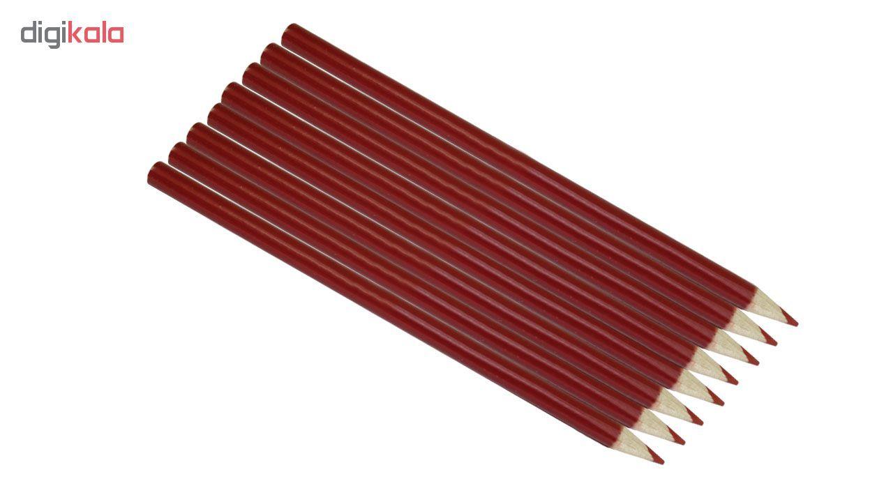 مداد قرمز کد ST2000 بسته 8 عددی main 1 1