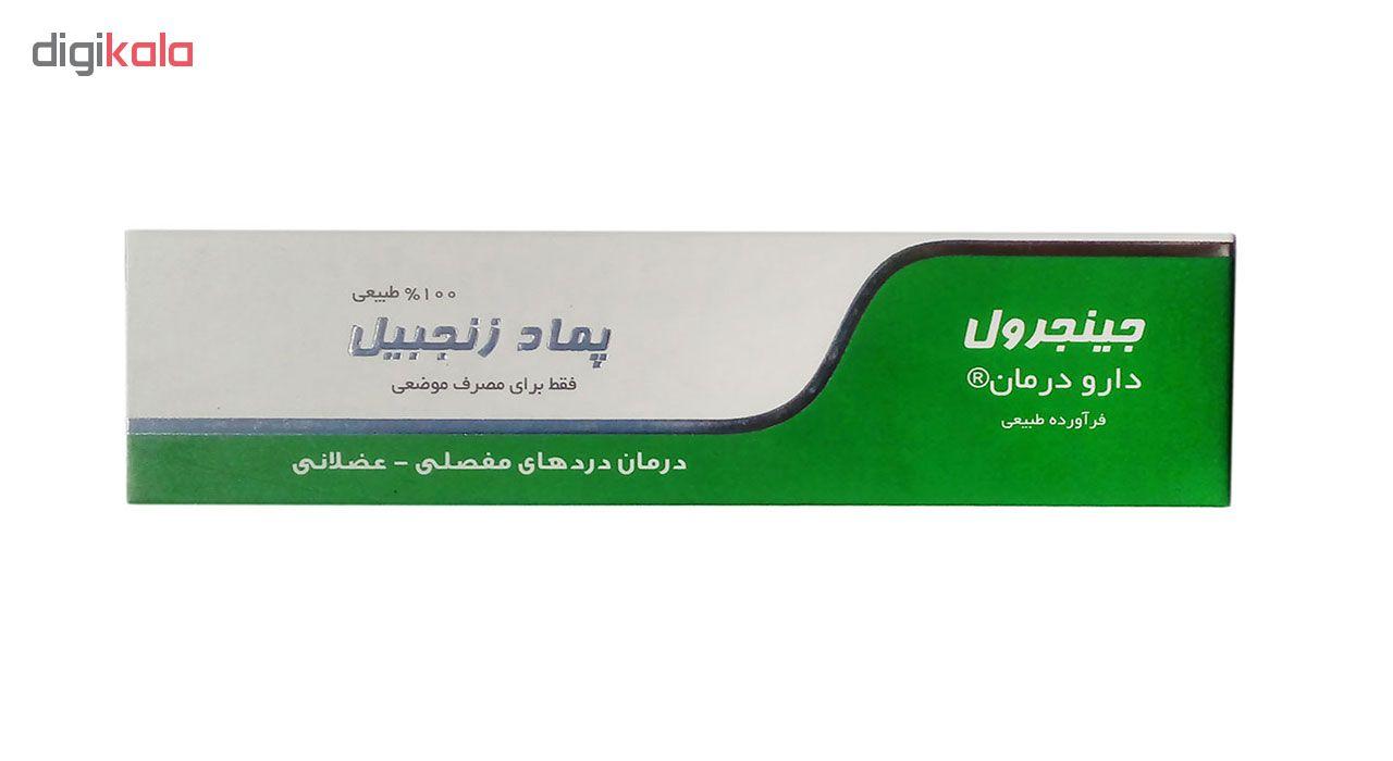 پماد ضد درد دارو درمان مدل Zangebil  وزن 30 گرم