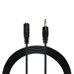 کابل افزایش طول 3.5 میلی متری صدا وی نت مدل AU-AF طول 5 متر