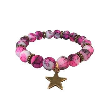 دستبند زنانه طرح ستاره کد ST01