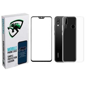 کاور مدل bjnp مناسب برای گوشی موبایل آنر 8x به همراه محافظ صفحه نمایش