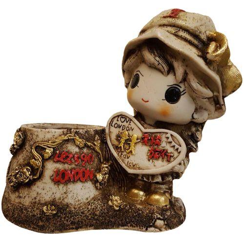 جامدادی رومیزی لیلپار طرح دختر تابلو فروش مدل DGA-2074