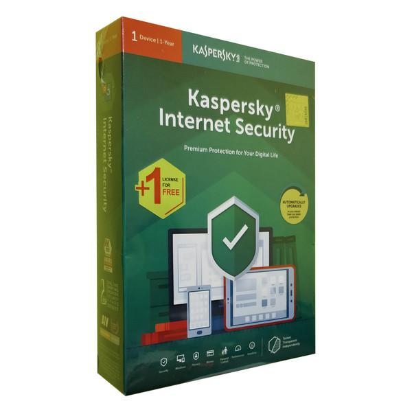 نرمافزار امنیتیInternet Security  کسپرسکی لب نسخه آی اس پی 2019 1+1 کاربره 1 ساله