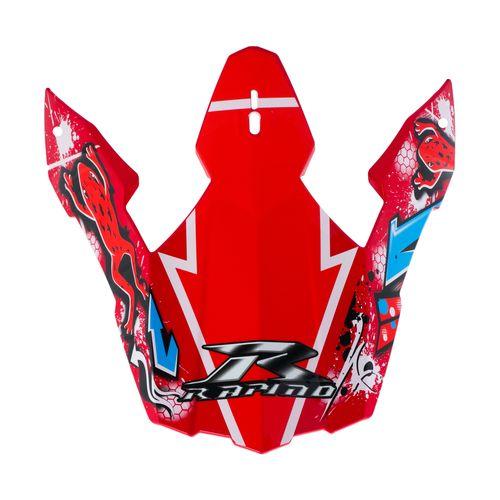 نقاب  راپیدو مدل FRO02RE مناسب برای کلاه کاسکت کراس