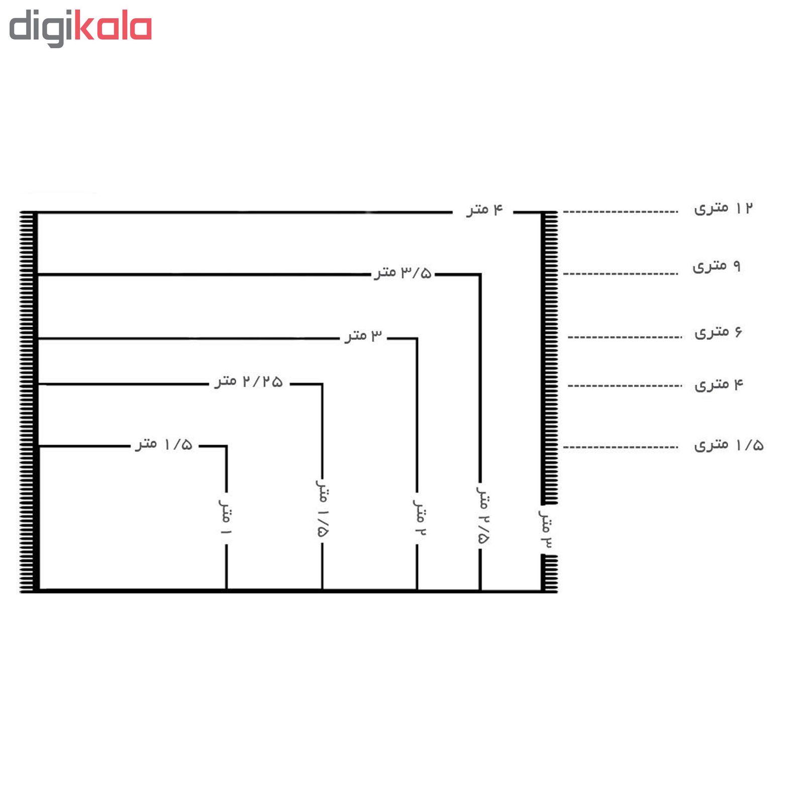 فرش ماشینی ساوین کد 4043 زمینه مشکی main 1 6