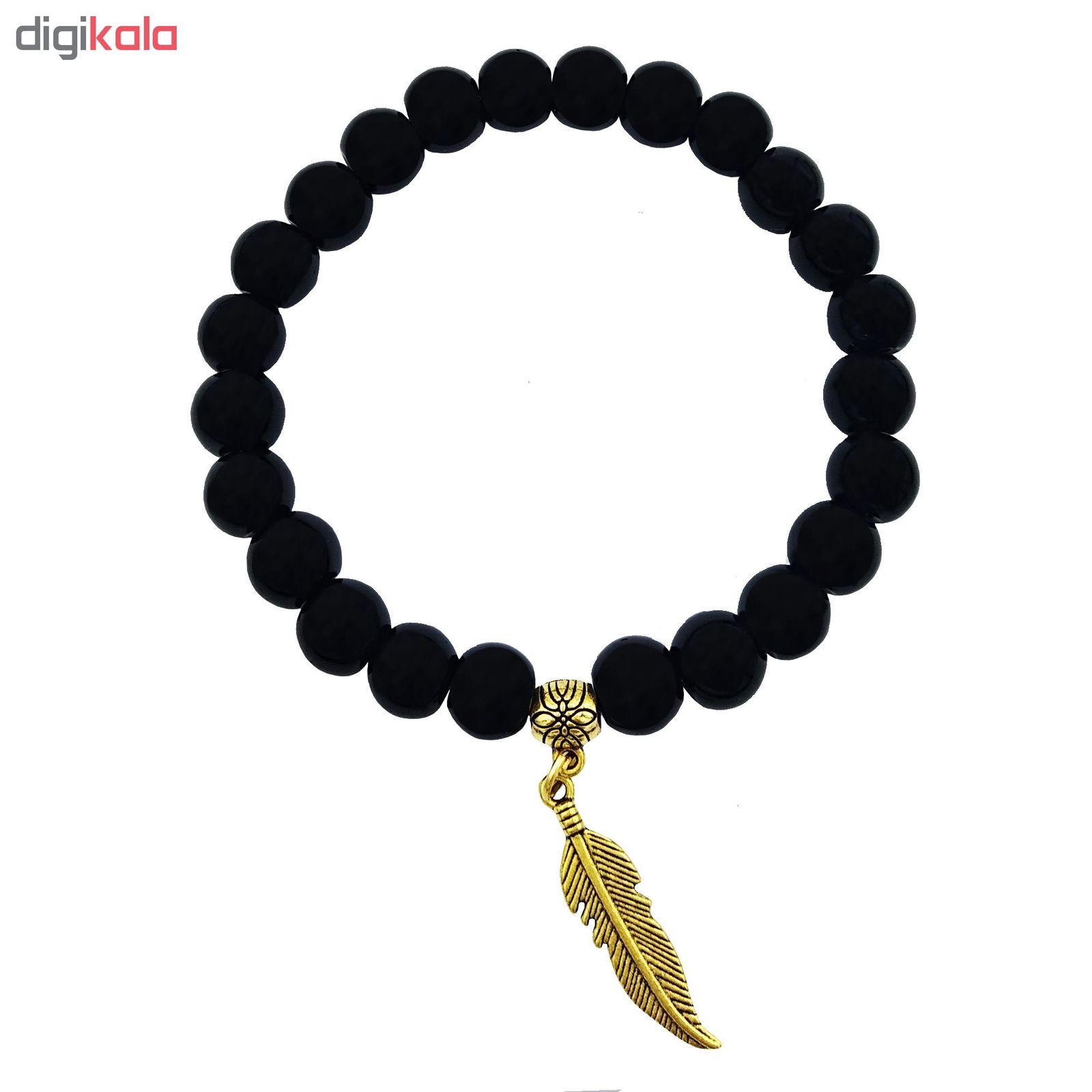 دستبند زنانه لاچو طرح پر کد P7 main 1 1