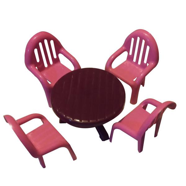اسباب بازی میز و صندلی مدلA007