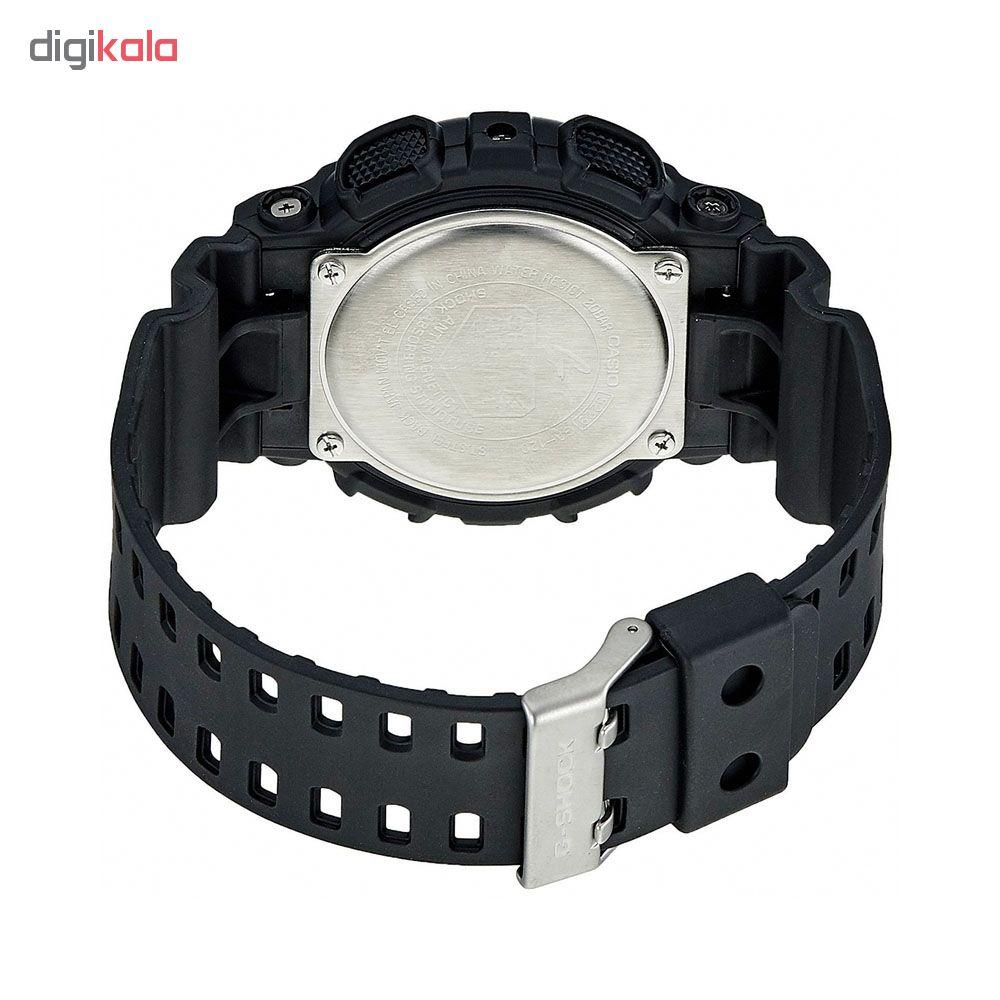کد تخفیف                                      ساعت مچی عقربه ای مردانه کاسیو مدل جی شاک کد ga-120-1a