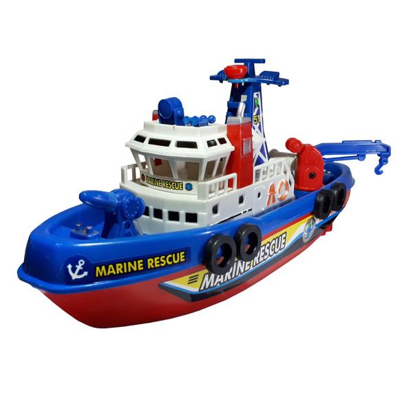 کشتی اسباب بازی مدل FIRE BOAT کد 0619