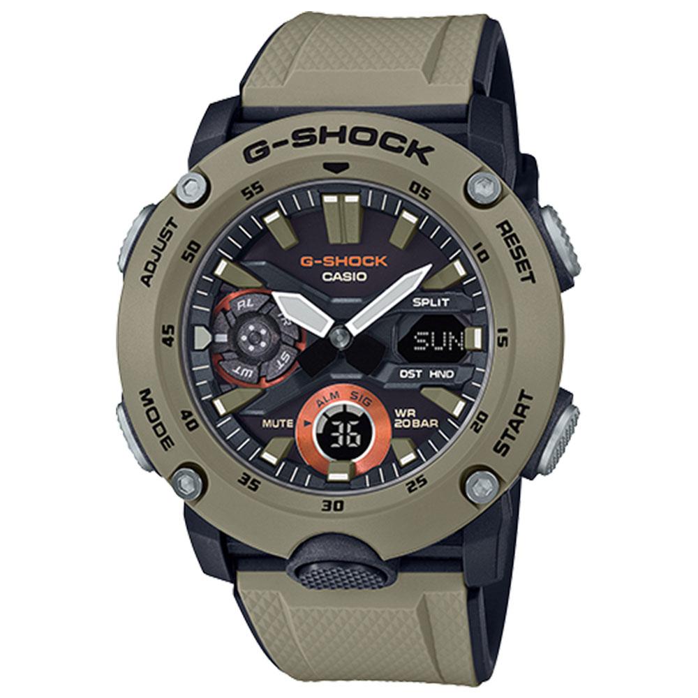 کد تخفیف                                      ساعت مچی عقربه ای مردانه کاسیو مدل جی شاک کد  ga-2000-5a