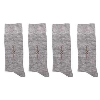 جوراب مردانه کد 0010 بسته 4 عددی